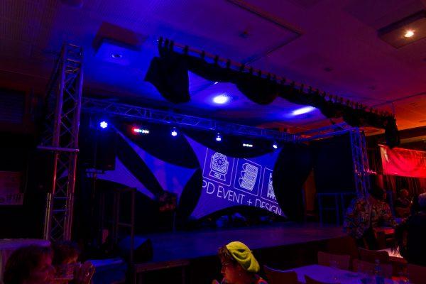 Bühnenbau Indoor