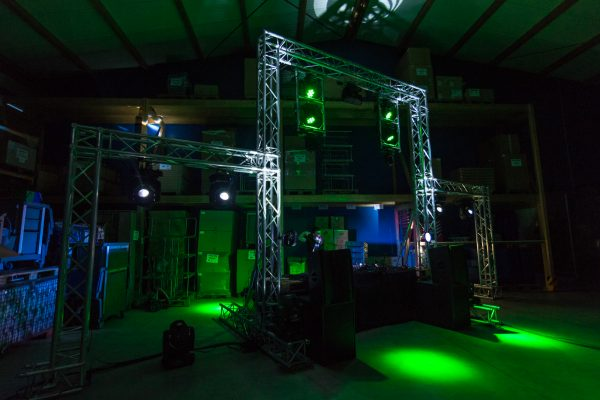DJ-Aufbau - Livestream-Projekt
